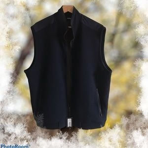 Murano XL Slim Fit Thin Vest with Zipper NWT